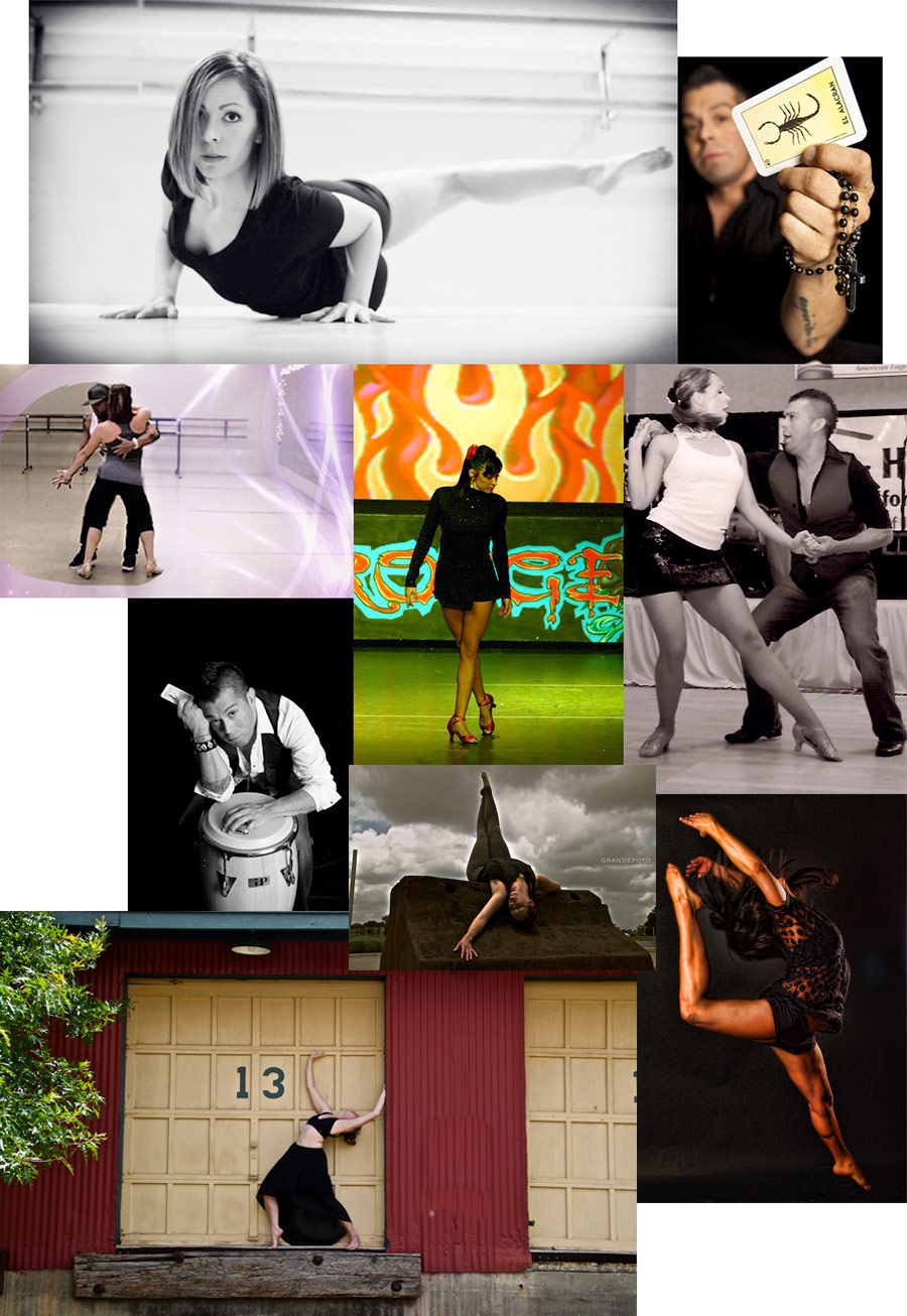 Composite image of City Dance Center Instructors